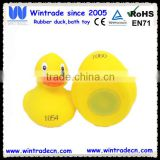 Cheap floating race rubber bulk plastic inflatable bath yellow duck