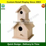 Birdhouse Wood Surface for Crafting YM1-1070