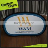 Printed Fabric Printed Dye Sublamtion Promotional Display Pop Up A Frame Banner For Event
