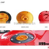 ALL MOTORCYCLES CNC Aluminum motorcycle FUEL CAPS EVO OR QUICK LOCK TYPE FUEL CAPS(Different motorcycles Different Fuel cap)