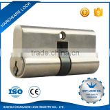 Double open key lock cylinder types or safe lock cylinder