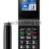 "New arrival ! China old people phone 2.2inch TFT screen flip phone with dual sim quad band 2.2"" BRG Resolution:220*176 W73 phone"