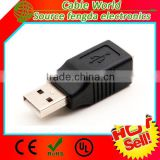 USB adapter type B female to Type A male converter