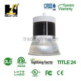240W High Bay LED light fixtures for warehouses, gyms, assembly areas, food processing plants and hangars