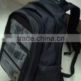 solar charging backpack/solar energy bag/solar laptop backpacks(OEM/ODM)--KA-SBP041