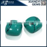 7x7mm square green iran synthetic Turquoise wholesale