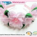 Stylish Women Girls Floral Headband Bohemia Hair Band Flower Garland Wedding Hair Accessories