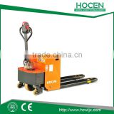 China best price get 210Ah battery semi electric pallet jack
