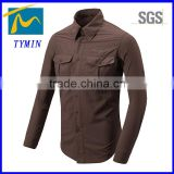2014 latest men quick dry man shirt hiking bivouac apparel adult size quick dry sportswear fitness running clothes