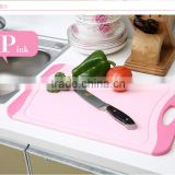 Plastic Chopping Mat/flexible Cutting Board Pink