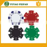 plastic or clay printable casino poker chips wholesale game chips