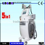 Factory Sell Melt Fat Cell Fast Fat Freezing Liposuction Cavitation RF Lipo Laser Machine
