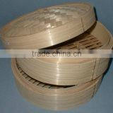Bamboo Material Multiple Layers Vegetable Cake Basket Steamer