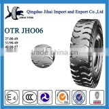 Alibaba China cheap and high performance tires OTR E4 pattern 31/90-49 27.00-49 40.00-57 for sales