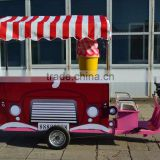 hot food vending machine new hot seller Food Trailer mobile food trailer with big wheels