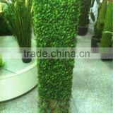 Home and outdoor decoration artificial plastic cheap milan grass boxwood mat hedge E04 2201