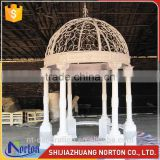 landscape wedding decoration white metal gazebo canopys NTIG-017Y