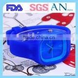 Dongguan Factory silicone negative Colorful watch for 2015