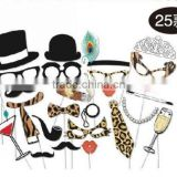 Wedding favor party photo booth props 25 pcs/set popular hot selling festival studie