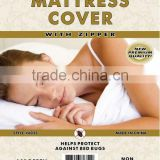 plastic pvc mattress cover for Factory supplier