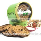 VIETNAM HIGH QUALITY OUD INCENSE COIL ( AGARWOOD INCENSE SPIRAL WITH WOODEN BURNER)