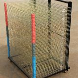 Stainless Steel Screen Printing Drying Rack For T Shirts / Non Woven