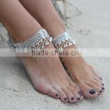 Inquiry about SILVER tone chain bells GHUNGROO ANKLET PAYAL foot bracelet pair