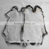 Cheap price Rabbit fur skin for garment shoese raw color china rabbit fur plate