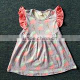 new style baby cotton candy print dress beautiful summer girl milk silk frocks