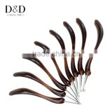 D&D Top Quality 8pcs/set Metal Crochet Hook Brown Knitting Needles Weaving Pins DIY Crafts for Sweater Gloves Needlework 8 Sizes
