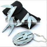 Outdoor Mini Foldaway multi tool knife pocket multitools(Knife Keychain Screwdriver),alicates multi herramienta
