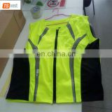 Wholesale Protective Hi Vis Yellow Bike Jacket