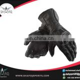 Custom made motorcycle Leather gloves/ High Quality Leather Racing Gloves