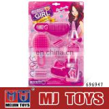 popular hair clipper toy plastic toy tool set for little girl