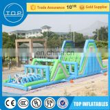 TOP inflatable juegos inflables playground equipment obstacle course with EN15649