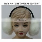 New Design Popular Warm Winter Fur Earmuff for Girls