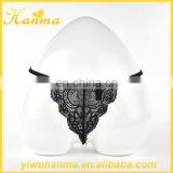 Ladies transparent lace lingerie black panties women underwear sexy g-string