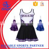 skins compression wear spandex cheerleading uniforms OEM servie