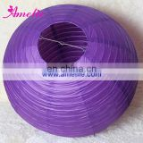 A79PL Purple Chiese paper lantern party supplies