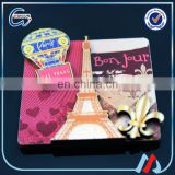 Eiffel Tower 2d las vegas fridge magnet