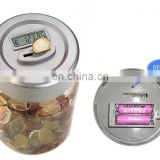 Lowest price factory piggy bank with coin counter