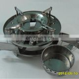 Stainless steel solid liquid alcohol stove