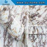 Decorative sticker kitchen oil proof Marbling wall paper