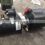 12V/24 V remote control hydraulic power unit for tipper trailer ,hydraulic hoists