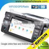 "Erisin ES2246B 7"" Android 4.4.4 E46 M3 Car Audio with GPS DVD CD Player 3G WiFi Bluetooth"