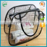 New Design Fashion Low Price Ladies Plastic Pvc Bag Handbag