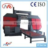 GZ42100 Double Column Hydraulic Power Press Band Saw Machine with cutting capacity 1000mm