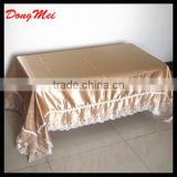 luxury table cloth for wedding ,textile jacquard table cloth ,damas fabric table cover wholesale