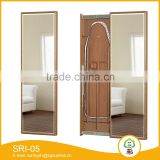 Compact Classic Wooden Wall Mounted Dressing Mirrors of SRI-05