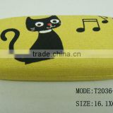 2013 new style kids glasses accessories zipper eyeglass case,eye glasses case
